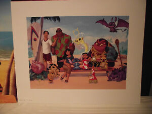 Disney Stitch! The Movie Lithograph Edmonton Edmonton Area image 2