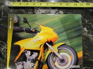 YAMAHA SECA 2 , SECA II MOTORCYCLE BROCHURE CATALOG