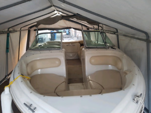 2000 Searay 180 Bow Rider with trailer