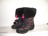 """GEOX """"- winter boots / bottes d'hiver --- like NEW -- size 1 US"""