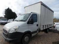 Iveco Daily 35S13,14ft+ Curtain side