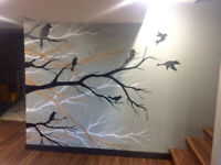 Local Artist- Custom Murals, Paintings pet portraits and more