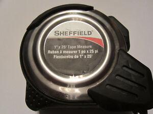 SHEFIELD Professional 25' Tape measure