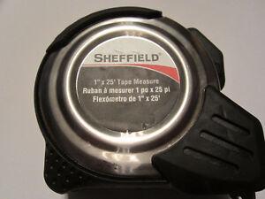 SHEFIELD Professional 25' Tape measure