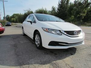 2013 Honda Civic LX! AC! HEATED SEATS! HANDS-FREE! CALL NOW!