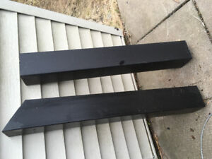 Composite deck post covers