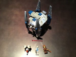 LEGO Star Wars 75041 Vulture Droid 100% Complete