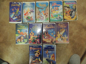 Disney Classics, Masterpieces and 4 boxes of VHS Movies