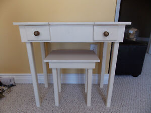 Vintage Make-Up Table and Stool