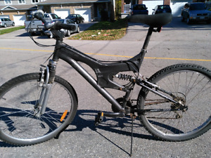 Nice dual suspension bike