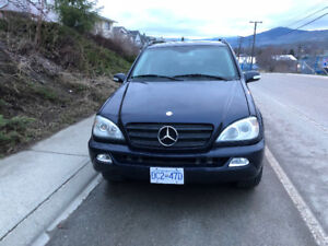 2002 Mercedes-Benz M-Class Leather SUV, Crossover