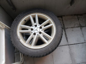 C240 2004 tires and rims 4 sets