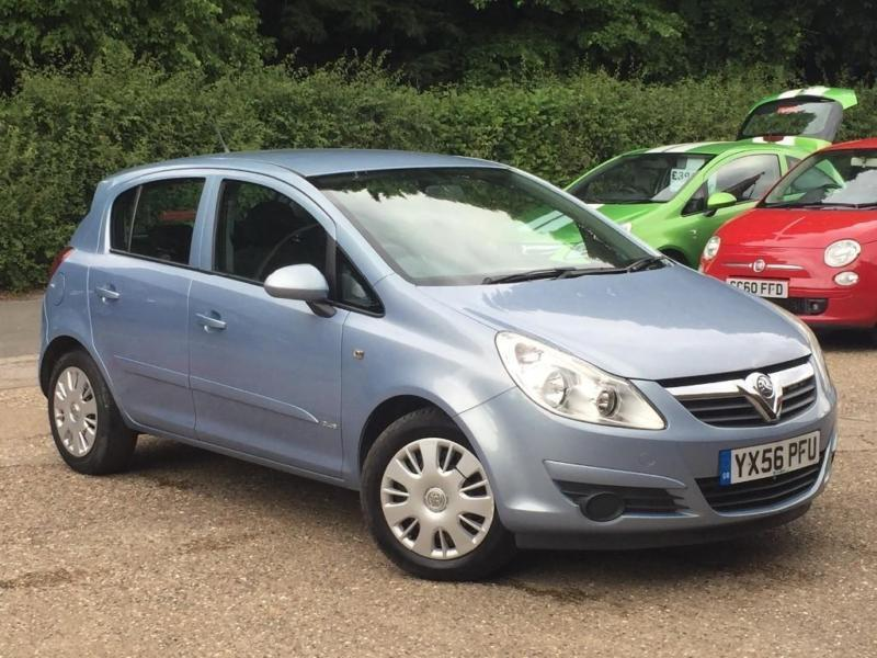 2006 vauxhall corsa 16v club 5 door blue superb. Black Bedroom Furniture Sets. Home Design Ideas