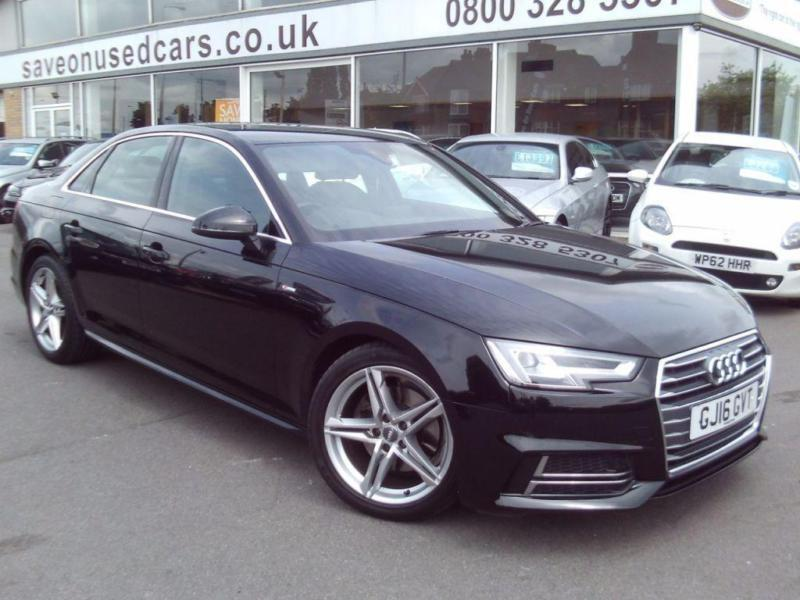 2016 audi a4 2 0 tdi s line 4dr s tronic 4 door saloon in scunthorpe lincolnshire gumtree. Black Bedroom Furniture Sets. Home Design Ideas