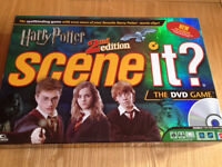 Harry Potter Scene It 2nd Edition DVD Game