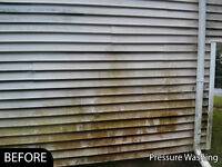 We Offer The Best House Wash in HRM! Dirty Siding? Dirty Gutters