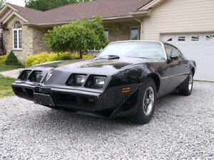 1979 Black Trans Am 301 4 speed 1 of 1590 made original car