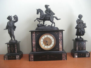 ANTIQUE FRENCH 19th CENTURY CLOCK