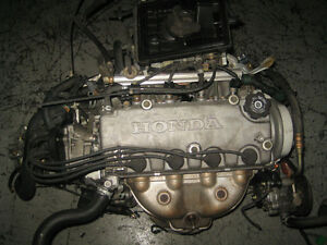 96 00 HONDA CIVIC OBD2 SOHC D15B NON VTEC 1.5L ENGINE 5SPEED JDM