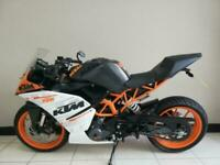 2016 (66) KTM RC390 race 390cc sport track a2 legal 6 speed orange