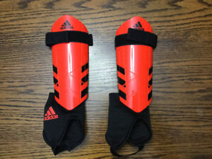 Soccer shin guards - brand new Adidas Child's large