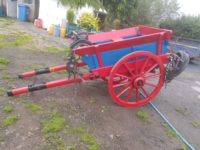 Original donkey cart an 2 sets  harness for sale  Dungannon, Northern Ireland