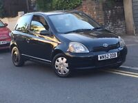 Toyota Yaris 1.0 VVT-i 16v GS Free-Tronic SEMI AUTOMATIC CLUTCHLESS MANUAL 2003 IDEAL FIRST CAR