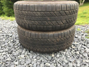 Two P205/55R16 Summer Tires