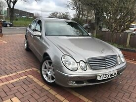 2003 (53) MERCEDES E320 CDI ELEGANCE AUTO ENGINE GEARBOX SPOT ON
