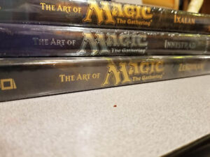 The Art of Magic The Gathering Books - Set of 3 *NEW*