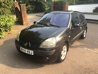 RENAULT CLIO 1.2 3 DOOR 2006 FULLY LOADED SUNROOF ALLOYS MOTD