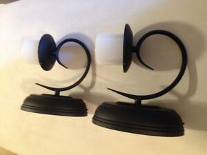 Flameless wall sconce -1 pair remains!
