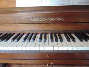 "Sherlock-Manning Piano 56"" x 24.5"" x 41.5"" high"