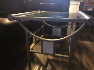 Contemporary Coffee Table with 1 matching End Table