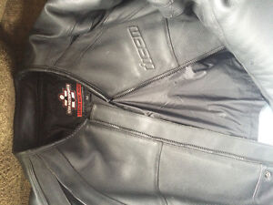 ICON Leather Jacket - REDUCED TO SELL