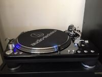 9monts old AT LP 1240 as new condition, audio technica technics sl 1200