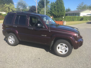 NEED SOLD.2004 Jeep Liberty, Limited Edition, 4x4 For Sale