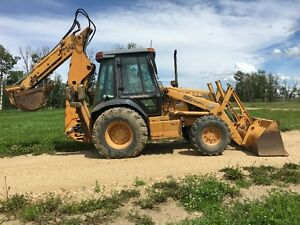Case extend-a-hoe backhoe only $31,500