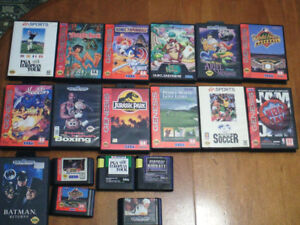 Sega Genesis video games and console