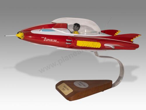 Gerry Anderson SuperCar Super Car Transparent Cabin Solid Wood Display Model