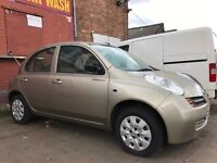 2005 NISSAN MICRA S FEBRUARY MOT SPARES OR REPAIRS