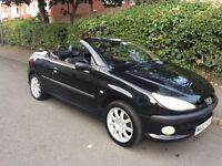 Peugeot 206 cc convertible 2002