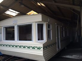 36ft x 12ft 2 bedroom caravan