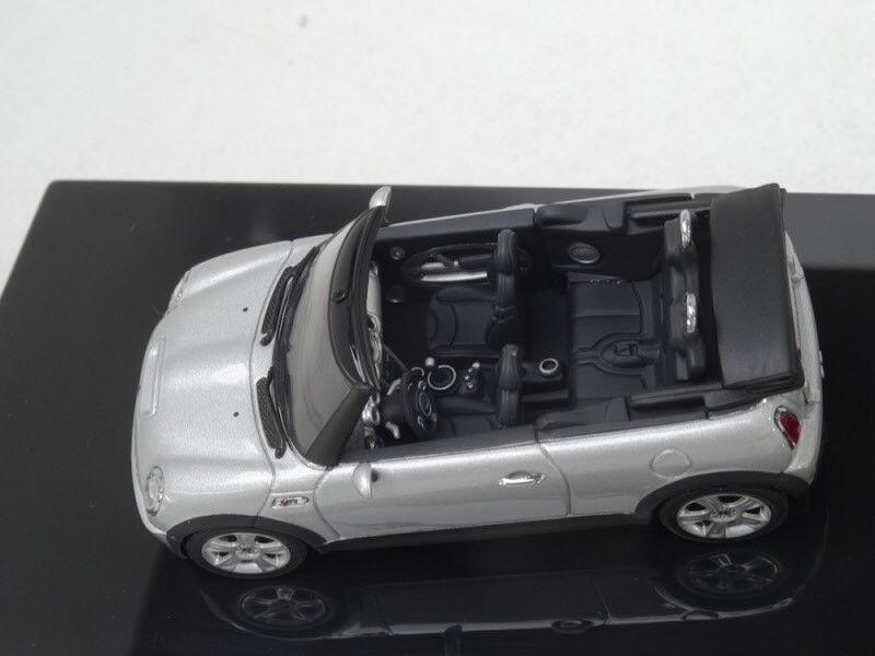 Autoart 143 54848 2005 Bmw Mini Cooper S Cabriolet Pure Silver