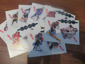 11 Jello Pudding NHL Action Cards--1993-94 and 1995-96