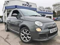 2014 Fiat 500 S Manual Hatchback