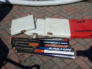 Softball / Two Pitch bats and bases
