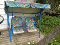 childs patio swing