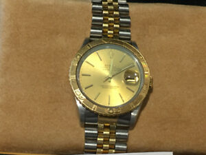 Rolex DateJust Turnograph 37 mm Ref 16263 Box , Papers.
