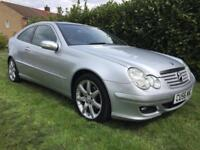 2006 56 Mercedes-Benz C200 2.1TD SE Auto PAN ROOF FULL LEATHER